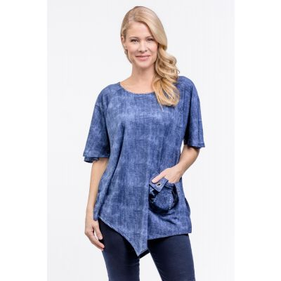 Pocket Detail Tunic in Denim