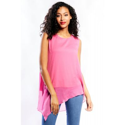 Chiffon Double Layered Flow Top