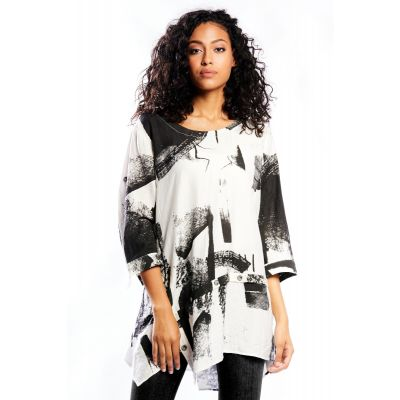 Graphic Paint Tunic