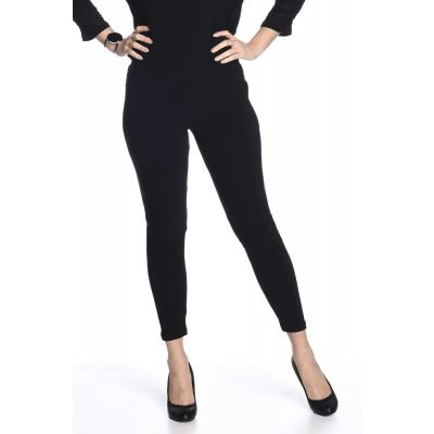 Classic Black Legging (Cotton Feel)