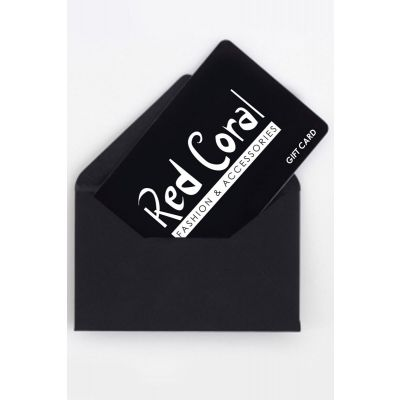 Red Coral Fashion Gift Card